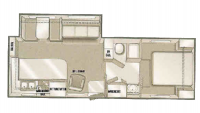 2004 Titan 27RKFS Floor Plan