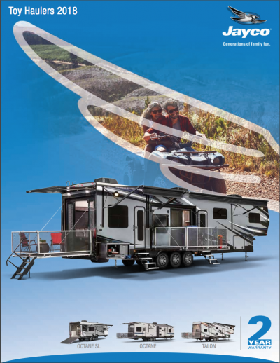 2018 Talon Brochure Cover