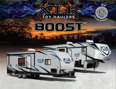 2018 XLR Boost Brochure Cover