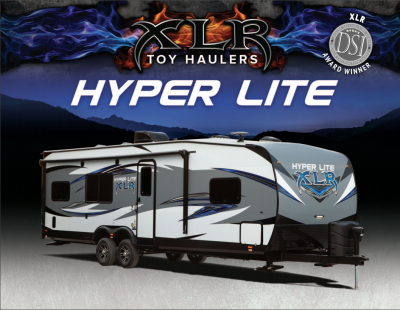 2018 Forest River XLR Hyper Lite RV Brochure Cover