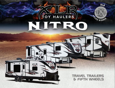 2018 Forest River XLR Nitro RV Brochure Cover