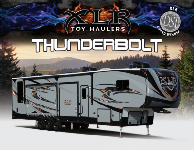 2018 XLR Thunderbolt Brochure Cover