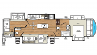 2020 Sandpiper 382VIEW Floor Plan
