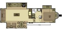 2014 Open Range LF319RLS Floor Plan