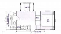 1999 Sportsmen 2251 Floor Plan