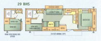 2004 Jay Flight 29BHS Floor Plan