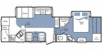2010 Cougar 292RKS Floor Plan