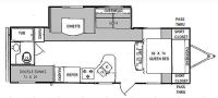 2012 Tracer 2670BHS Floor Plan