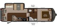2016 Sprinter 252FWRLS Floor Plan