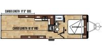 2018 Work and Play WPT30WCR Floor Plan