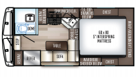 2019 Backpack Edition HS-2901 Floor Plan