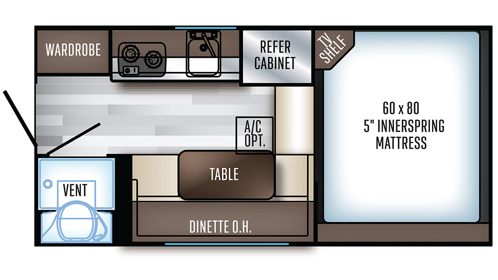 2019 Backpack Edition HS-6601 Floor Plan Img