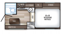 2019 Backpack Edition HS-750 Floor Plan