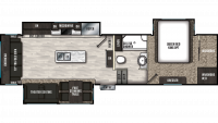 2019 Brookstone 310RL Floor Plan