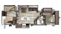 2019 Mesa Ridge MR310BHS Floor Plan