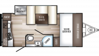 2019 PaloMini 178RK Floor Plan