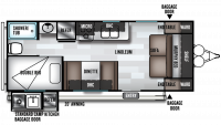 2019 Salem Cruise Lite 19DBXL Floor Plan