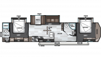 2019 Salem Villa Classic 4002Q Floor Plan