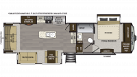 2020 Avalanche 321RS Floor Plan
