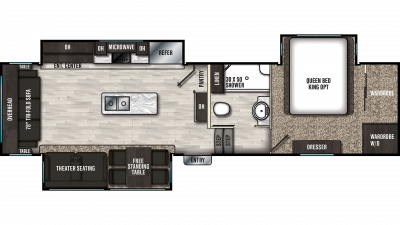 2020 Brookstone 310RL Floor Plan Img