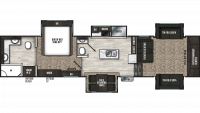 2020 Brookstone 344FL Floor Plan
