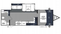 2020 Surveyor Luxury 267RBSS Floor Plan