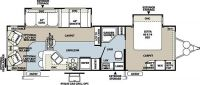 2012 Rockwood Signature Ultra Lite 8314BSS Floor Plan