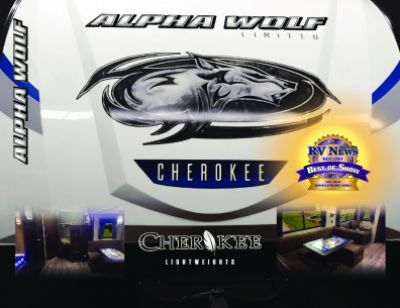 2019 Forest River Alpha Wolf RV Brochure Cover