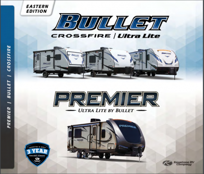 2018 Keystone Premier RV Brochure Cover