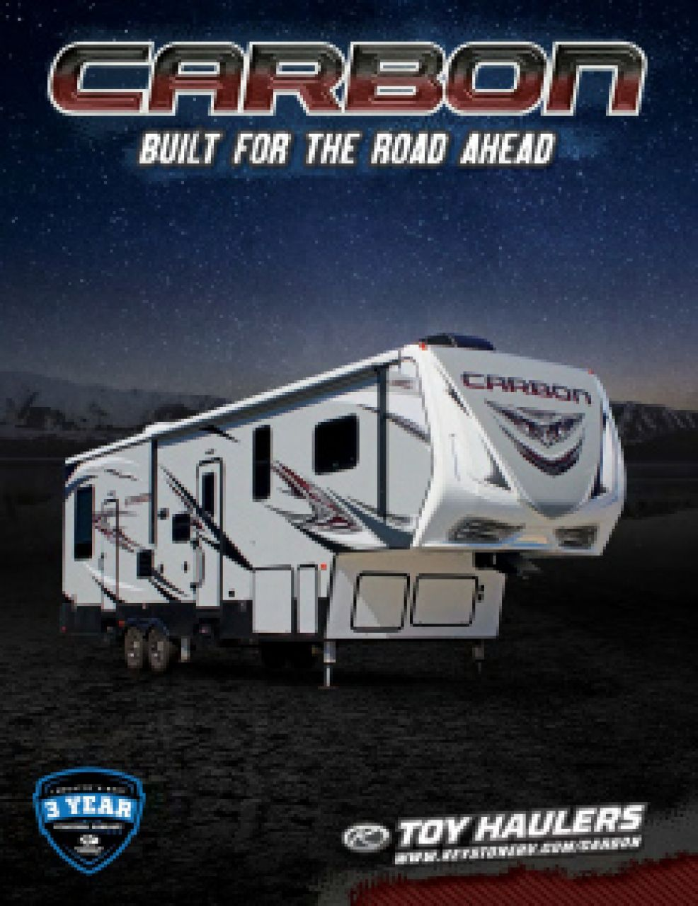 2018 Keystone Carbon RV Brochure Cover