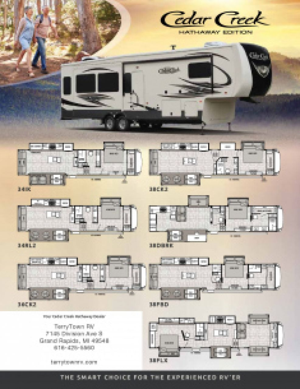 2019 Forest River Cedar Creek RV Brochure Cover