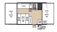 2005 Clipper 1270ST Floor Plan