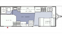 2005 Spirit of America 241FKG Floor Plan