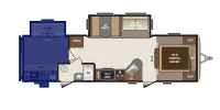 Den Area Floor Plan