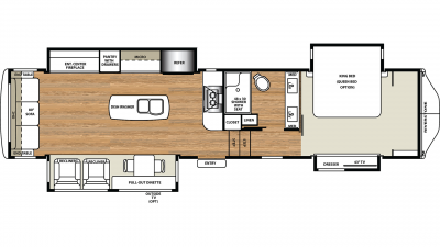 2019 RiverStone 37IK Floor Plan Img