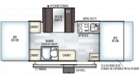 2019 Rockwood ESP 232ESP Floor Plan