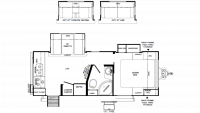 2019 Rockwood Mini Lite 2512WS Floor Plan
