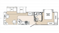 2008 Sabre 31REDS Floor Plan