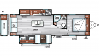 2019 Salem 27REI Floor Plan