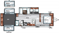2019 Salem 31KQBTS Floor Plan