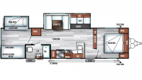 2019 Salem 32BHDS Floor Plan