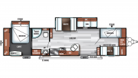 2019 Salem 36BHBS Floor Plan