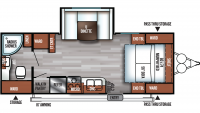 2019 Salem Cruise Lite 233RBXL Floor Plan