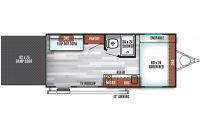 2019 Salem FSX 180RT Floor Plan