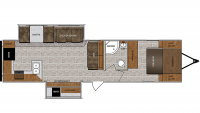 2019 Wildcat 338RKS Floor Plan