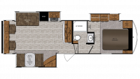 2019 Wildcat 30GT Floor Plan