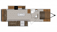 2019 Wildcat 312RLI Floor Plan