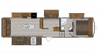 2019 Wildcat 35MB Floor Plan