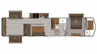 2019 Wildcat 35WB Floor Plan