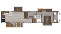 2019 Wildcat 37WB Floor Plan